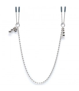 FIFTY SHADES OF GREY DARKER AT MY MERCY BEADED CHAIN NIPPLE CLAMPS